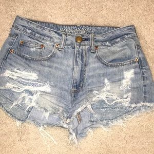 American Eagle Outfitters Hi-Rise Festival Shorts